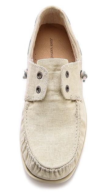 John Varvatos Star USA Schooner Boat Shoes