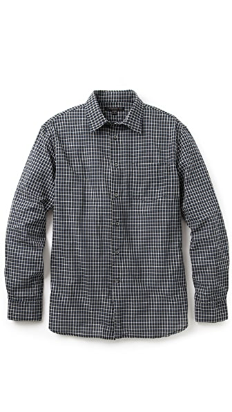 John Varvatos Star USA Slim Fit Check Shirt