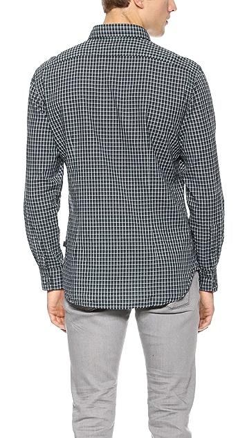 John Varvatos Star USA Slim Fit Check Shirt