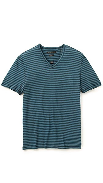 John Varvatos Star USA Stripe T-Shirt