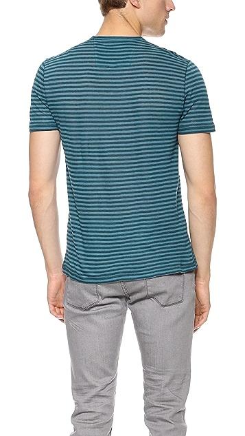 John Varvatos Star USA Stripe T-Shirt