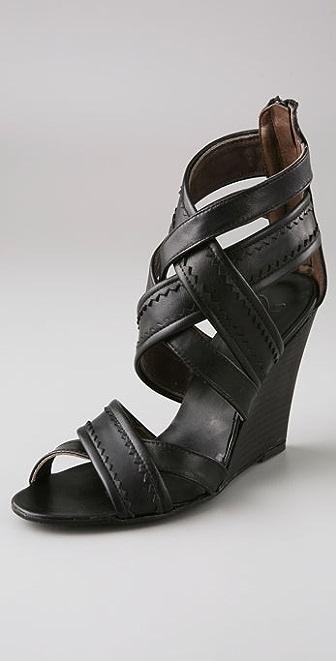 Joie My Boyfriend's Back Wedge Sandals