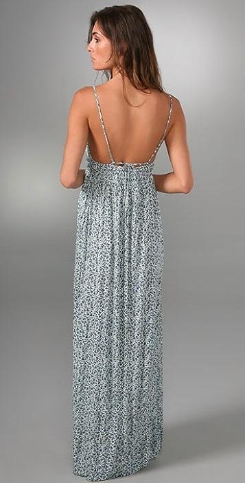 Joie Mari Smocked Long Dress