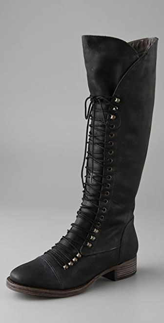 Joie Refugee Lace Up Boots