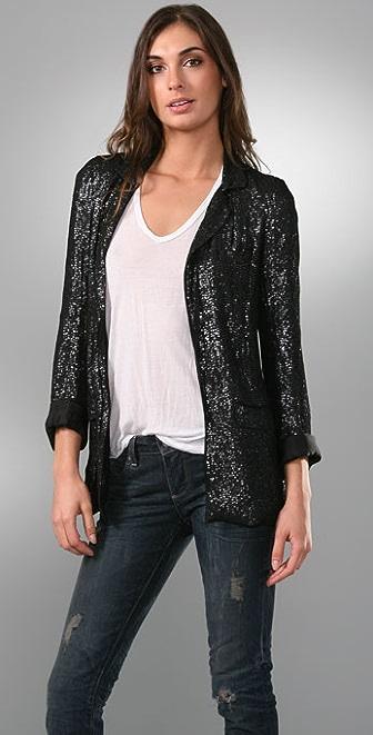 Joie Arietta Soft Sequin Blazer