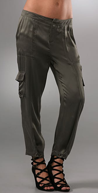 Joie Jester Silk Cargo Pants | SHOPBOP