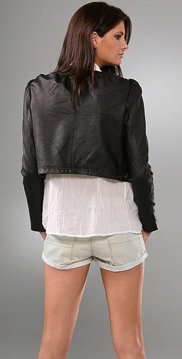 Joie Harvey Leather Jacket