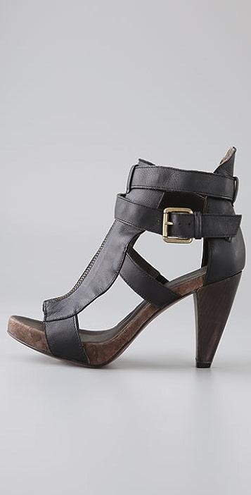 Joie Start Me Up Cork Platform Sandals
