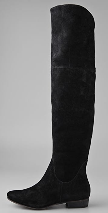 Joie Angelika Suede Over the Knee Boots