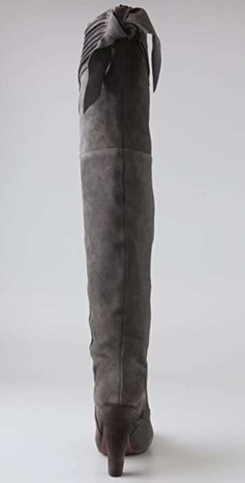 Joie Stand Tall Suede Over the Knee Boots