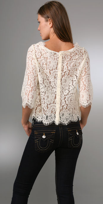 0fb556e5f0d0c Joie Elvia Lace Top