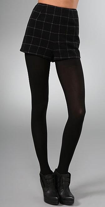 Joie Buella Plaid Shorts