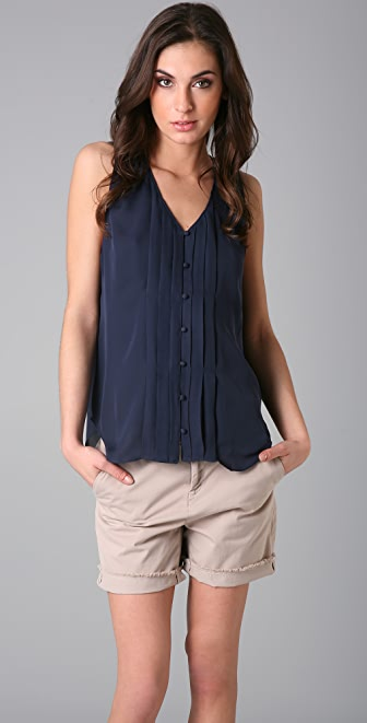 Joie Kallie Sleeveless Blouse