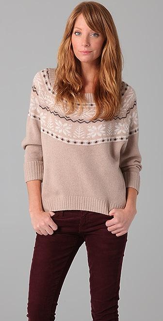 Joie Johana Fair Isle Sweater