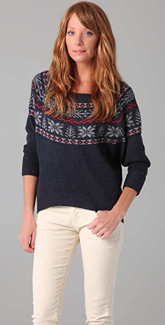 Joie Johana Fair Isle Sweater