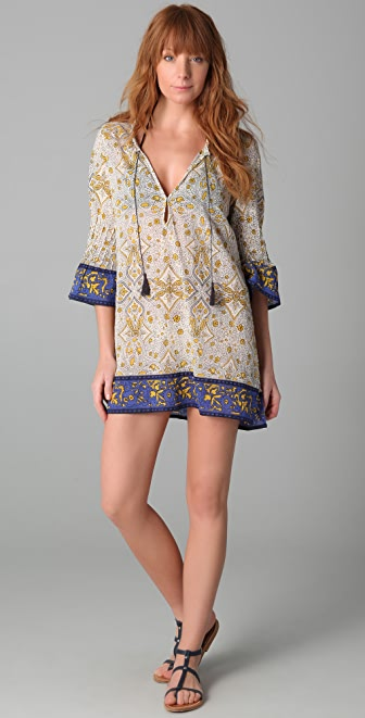 Joie Joie a La Plage Calica Tunic Cover Up