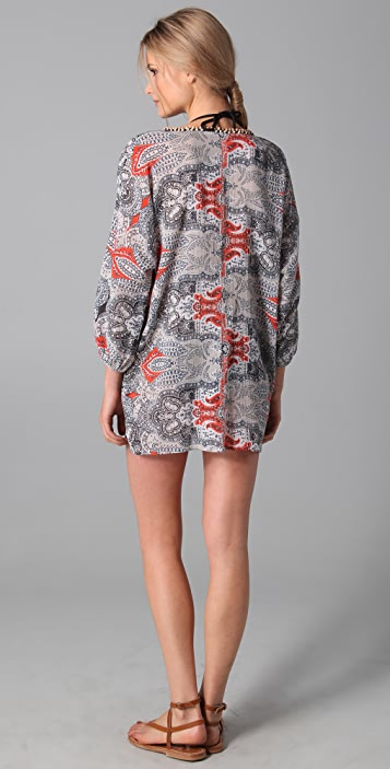 Joie Joie a La Plage Luka Tunic Cover Up