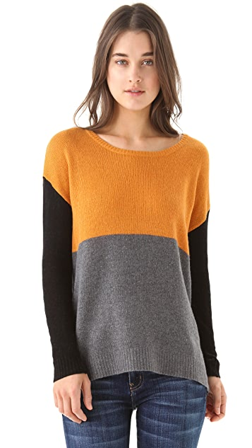 Joie Astaine Colorblock Sweater