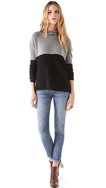 Joie Linnea Colorblock Sweater