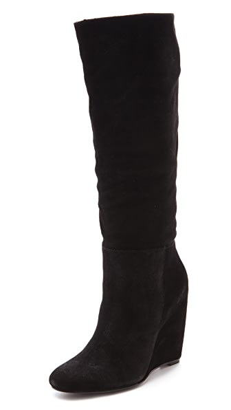 Joie Big Love Wedge Booties