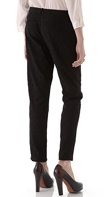Joie Lacinda Lace Pants