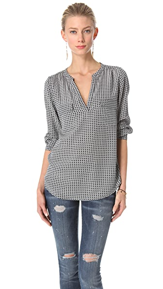 Joie Delanie Henley Pocket Top