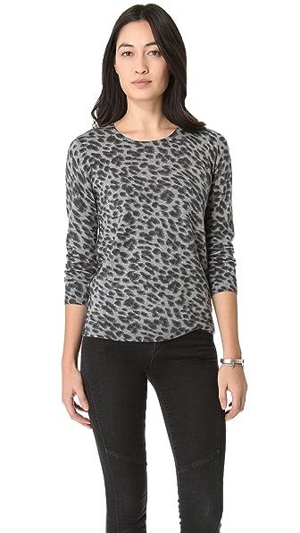 Joie Lucero Leopard Sweater