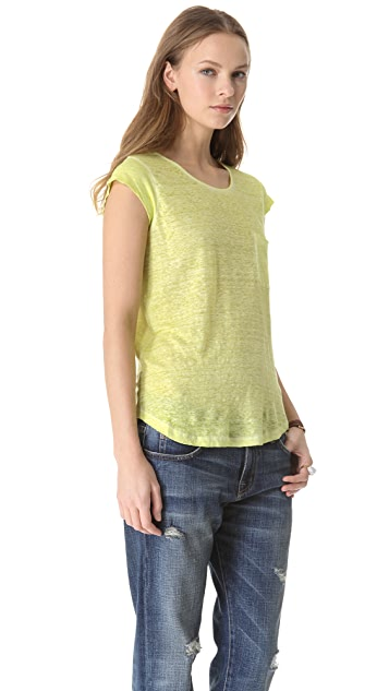 Joie Rancher Linen Top