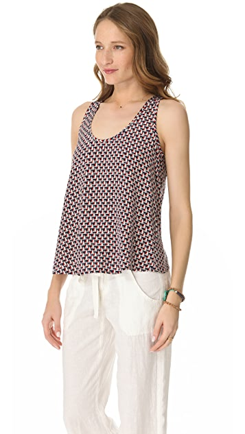 Joie Cedric Sailboat Print Top