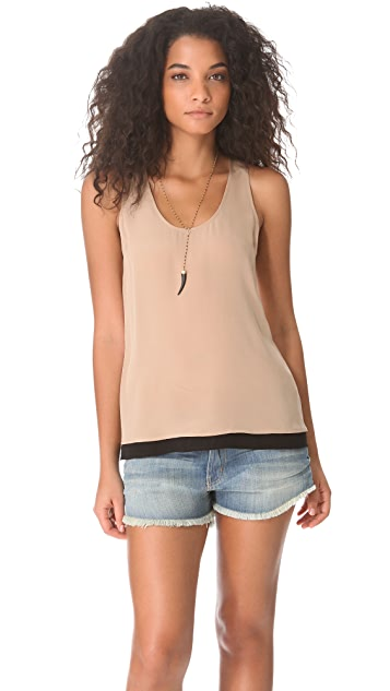 Joie Palla Colorblock Top