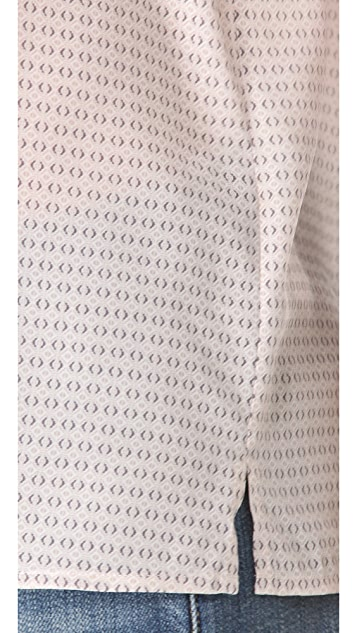 Joie Bowden Mini Medallion Print Top