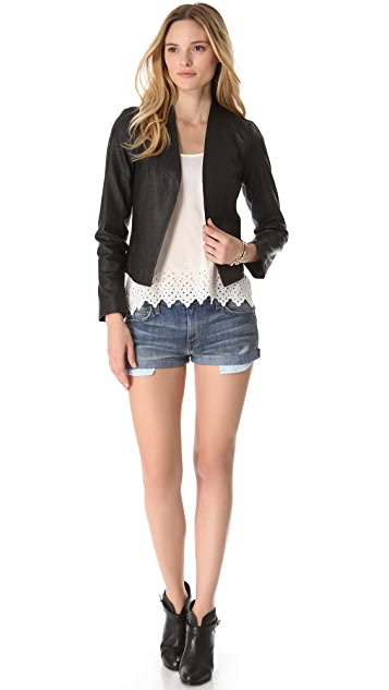 Joie Venette Leather Jacket