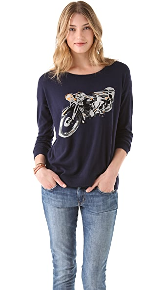 Joie Eloisa Intarsia Sweater