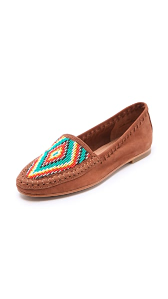 Joie Aliso Beaded Moccasins