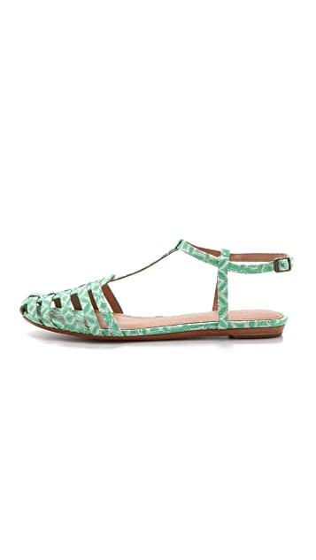 Joie Cosmo Print Flats