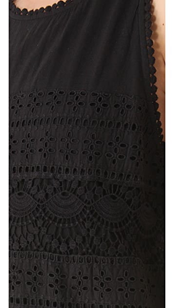 Joie Behati Eyelet Dress