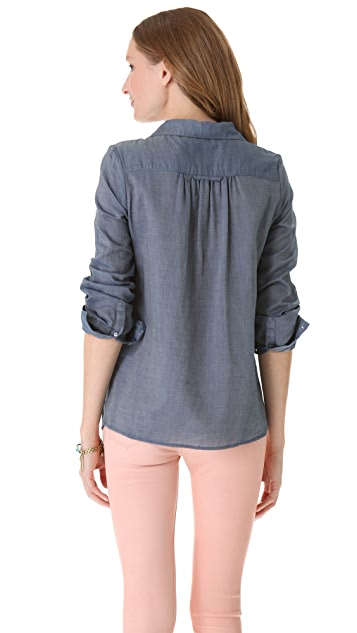 Joie Pinot Button Down Blouse
