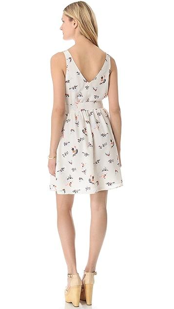 Joie Aragon V-Back Dress