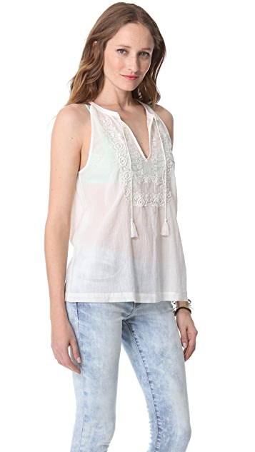 Joie Chutney Embroidered Top