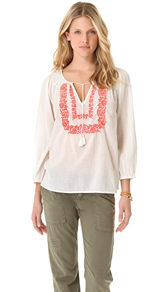 Joie Meliana Embroidered Tunic