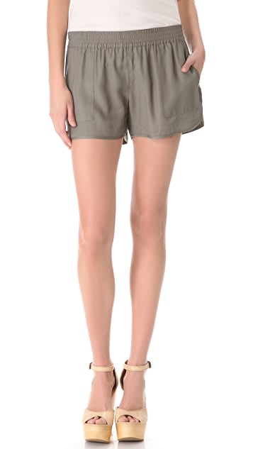 Joie Beso Crepe Shorts