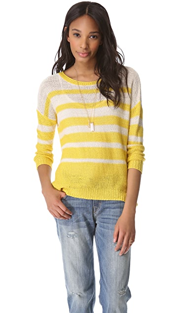 Joie Kalida Striped Sweater