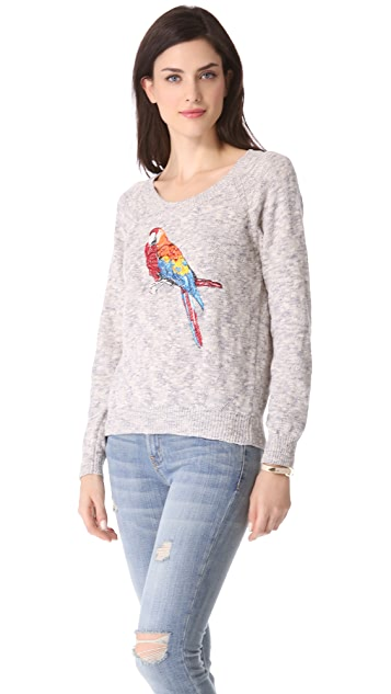Joie Durene Embroidered Sweater