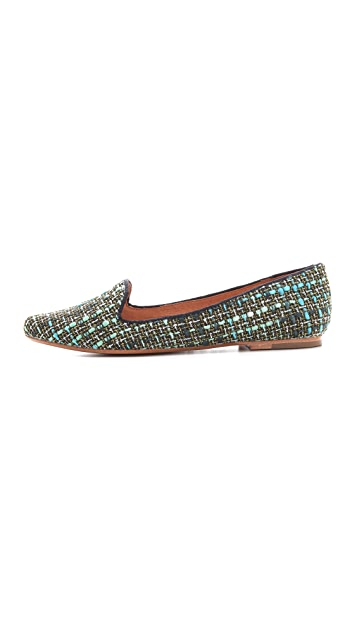 Joie Daydreaming Tweed Loafers