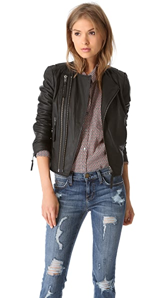Joie Kaylie Leather Jacket