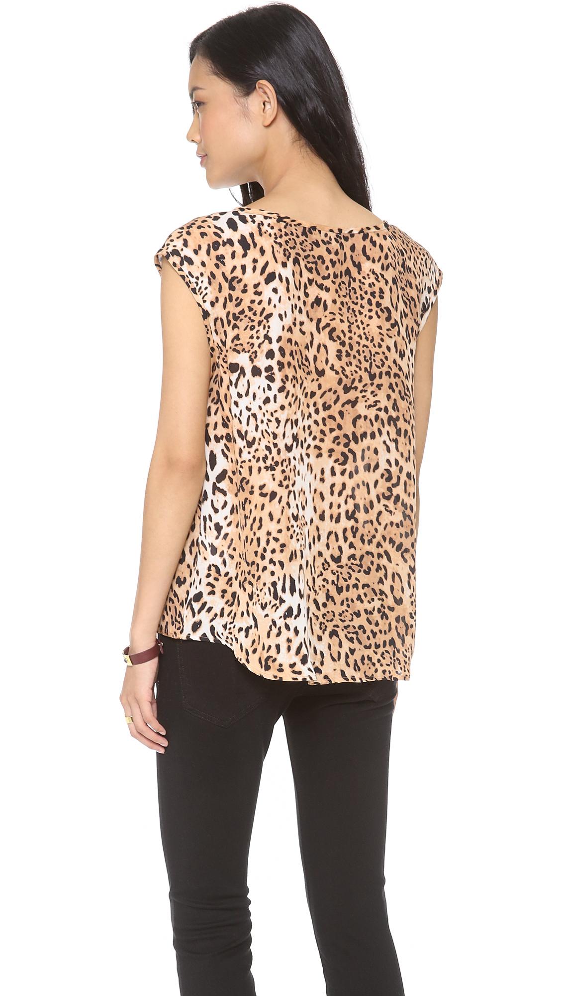 47ae6b69f1363b Joie Torrance Leopard Print Top | SHOPBOP