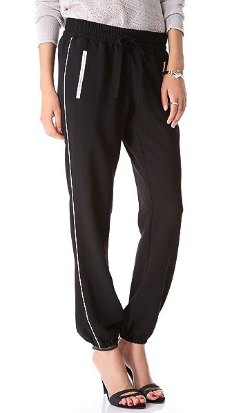 Joie Taluca Crepe Track Pants