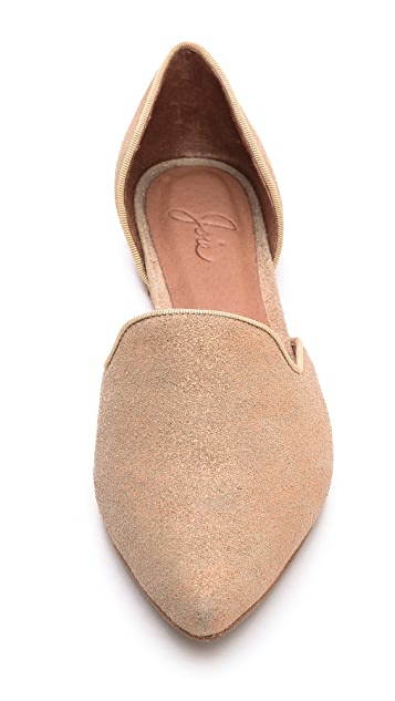Joie Florence Metallic d'Orsay Flats