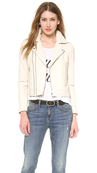 Joie Caldine Leather Jacket