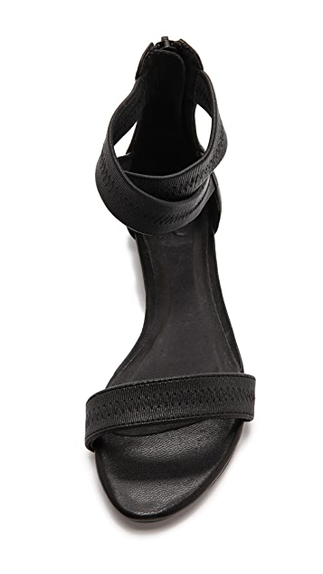 Joie Norah Cross Strap Flat Sandals